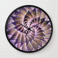 Round and Round. Wall Clock