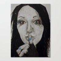 Inner Struggle Canvas Print