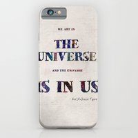 "iPhone & iPod Case featuring ""Universe"" Print by Grace Kelly McConnell"