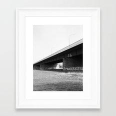 Düsseldorf Framed Art Print