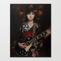 Benten Canvas Print