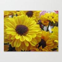 Bouquet Of Love Canvas Print