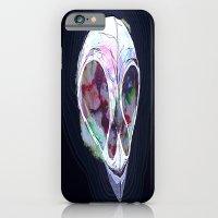 iPhone & iPod Case featuring Pastel Skull by Skeletal Noir