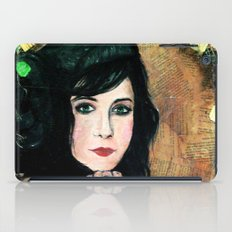Green Lady iPad Case