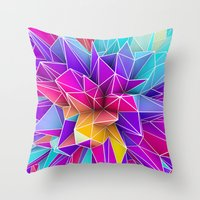 Kaos Pop Throw Pillow