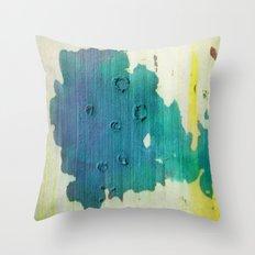 color spots Throw Pillow