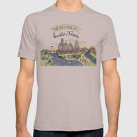 We Belong in Austin Mens Fitted Tee Cinder SMALL