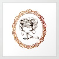 Princessmi - Sweet Girl2 Art Print