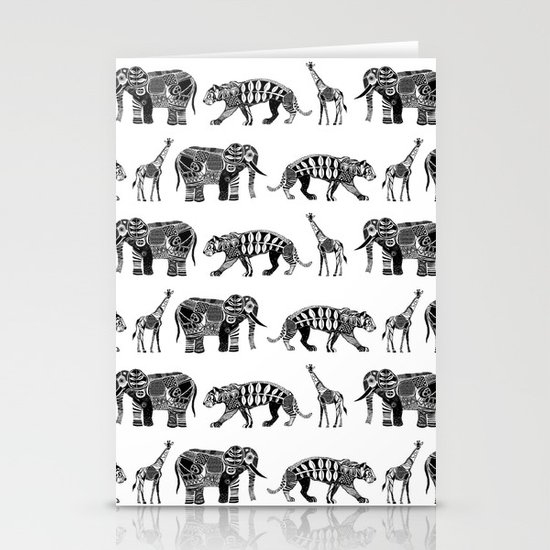 graphic zoo Stationery Card