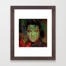 Elvis P. Framed Art Print