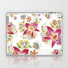 Tropical Flowers Watercolor Laptop & iPad Skin