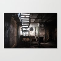 Industrial Ruins III. Canvas Print