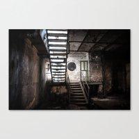 Industrial Ruins III. Canvas Print
