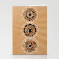 Three Circles Stationery Cards