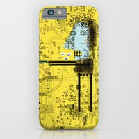 iPhone & iPod Case featuring Missed my Bus by Nayoun Kim