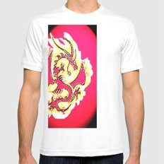 Dragon 5 only Mens Fitted Tee SMALL White
