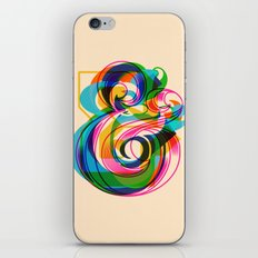 Champersands iPhone & iPod Skin