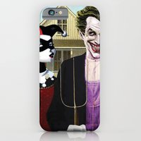 iPhone & iPod Case featuring Why So American Gothic? by Art & Villains