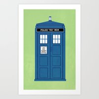 DOCTOR WHO. Art Print