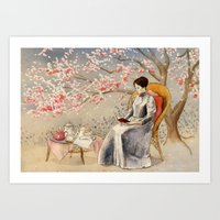 The Cherry Orchard Art Print