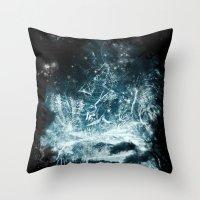 Aurora Animalia Throw Pillow