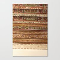 Moroccan Palace Patterns Canvas Print