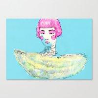 Fashion - Japanese, Karl… Canvas Print