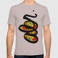 There Mens Fitted Tee Cinder SMALL