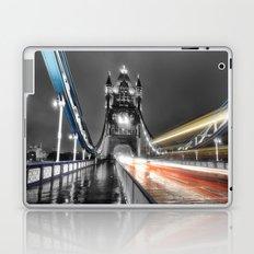 Tower Bridge at night Laptop & iPad Skin