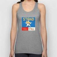 Stand Tall Y'all Unisex Tank Top