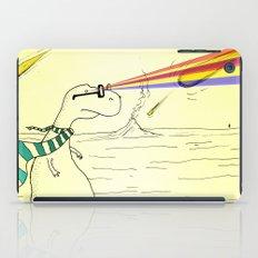 Hipster Laser Dinosaur iPad Case