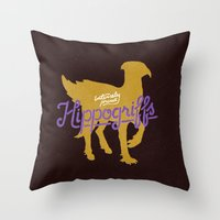 Hippogriffs Throw Pillow