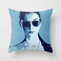 Stoya Throw Pillow