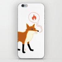 Fox With Pink Lips iPhone & iPod Skin