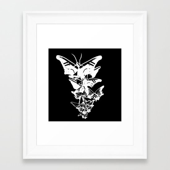 Shoes.. Framed Art Print