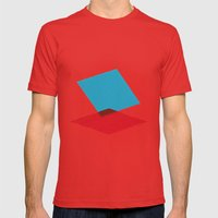 Anaglyph Mens Fitted Tee Red SMALL