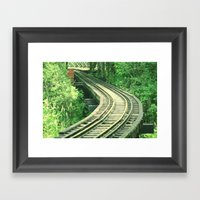 Follow Me  Framed Art Print
