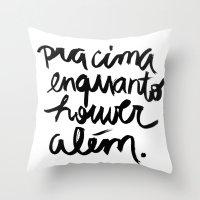 Além Throw Pillow