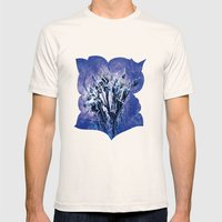 Thistle and Weeds_deep purple Mens Fitted Tee Natural SMALL