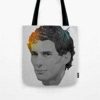 Ayrton Senna Tote Bag