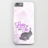 iPhone & iPod Case featuring Love is in the hare. by Chris Kitzmiller