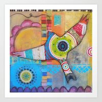 Soaring Above Art Print