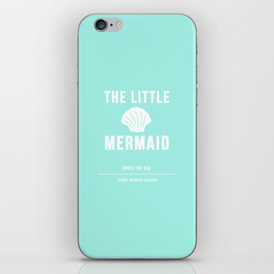Disney Princesses: The Little Mermaid Minimalist iPhone & iPod Skin