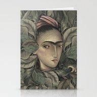 Frida Kahlo Stationery Cards