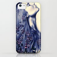 iPhone Cases featuring Bloom by KatePowellArt