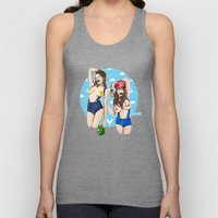 We're Here To Clean Your… Unisex Tank Top