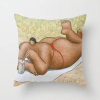 Tequila and Sun Throw Pillow