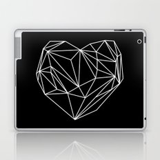 Heart Graphic (Black) Laptop & iPad Skin
