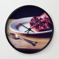 pomegranate, 2 Wall Clock