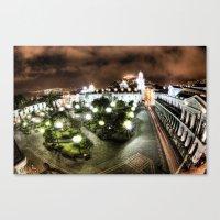 Plaza De La Independenci… Canvas Print